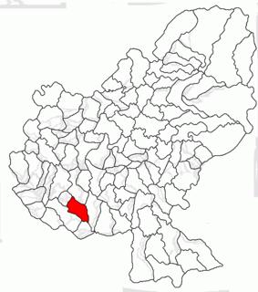 Gănești Commune in Mureș, Romania