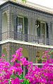 Garden District New Orleans Balcony Flowers May 2005.jpg