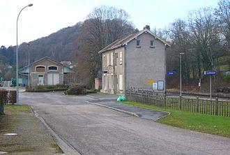 Clermont-en-Argonne - The railway station