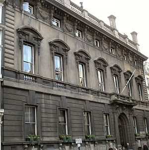 Garrick Club - Garrick Club building at Covent Garden, London
