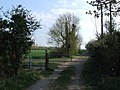 Gate on bridleway to Arlesey. - geograph.org.uk - 397401.jpg