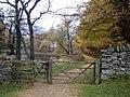 Gate to Lanty's Tarn - geograph.org.uk - 1518007.jpg