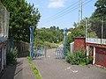 Gates on railway bridge - geograph.org.uk - 1228097.jpg