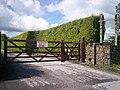 Gateway Closed - New One Further Down, Crofty, Llanteg - geograph.org.uk - 1363532.jpg