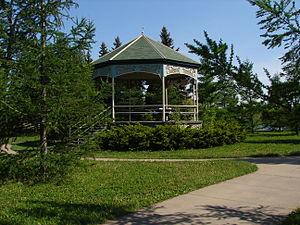 Jarry Park - Gazebo in Jarry Park