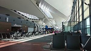 Gdańsk Lech Wałęsa Airport - Departures area at Terminal T2