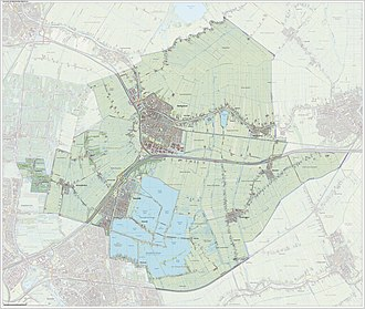 Bodegraven-Reeuwijk - Image: Gem Bodegraven Reeuwijk Open Topo