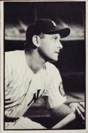 Gene Woodling - Image: Gene Woodling 1953
