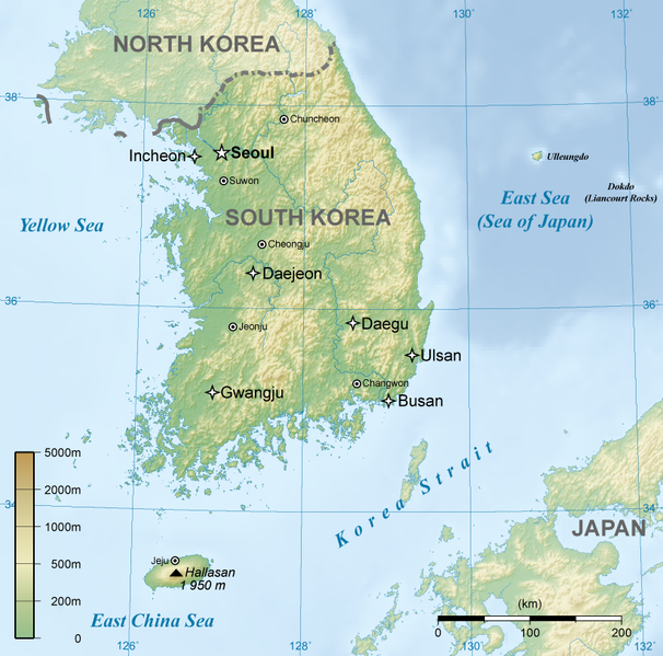 Fájl:General map of South Korea.png