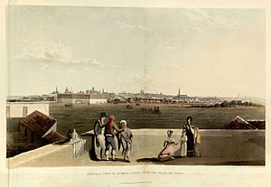 General view of Buenos Ayres from the Plaza de Toros - Emeric Essex Vidal - Picturesque illustrations of Buenos Ayres and Monte Video (1820)