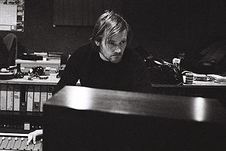 Geoff Barrow - Barrow mixing at State of Art Studio, Bristol