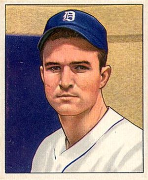 George Vico - George Vico 1950 Bowman baseball card