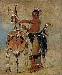 Pash-ee-pa-hó, Little Stabbing Chief, a Venerable Sauk Chief