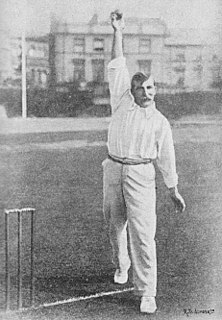 George Davidson (cricketer) English cricketer