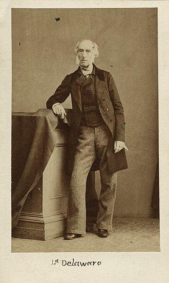 George Sackville-West, 5th Earl De La Warr - Image: George Sackville West, 5th Earl De La Warr