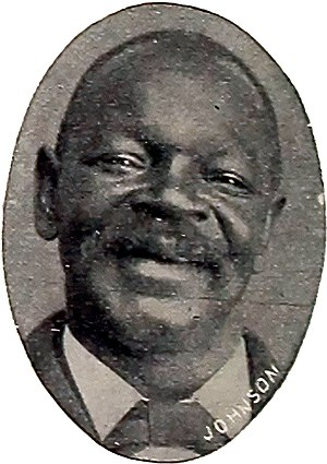 George W. Johnson (singer) - A photo of Johnson from The Phonoscope, July 1898