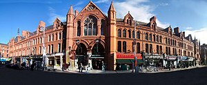 George's Street Arcade - George's Street Arcade Dublin, a panoramic view