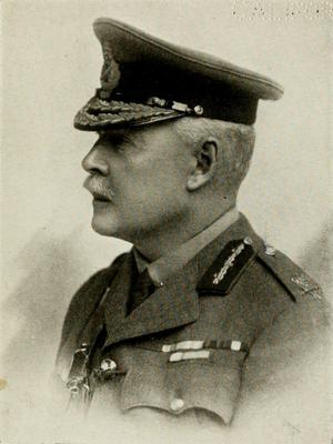 Gerald Cuthbert - Major-General Cuthbert, c. 1917