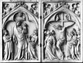 German - Diptych with the Virgin and Child, and the Crucifixion - Walters 71214 - Pieces A B.jpg