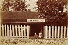 deutsches Gasthaus auf den Marshallinseln