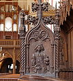 Germany Bardowick cathedral wood carving.jpg