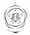 Gesneria pendulina flowerdiagram.png