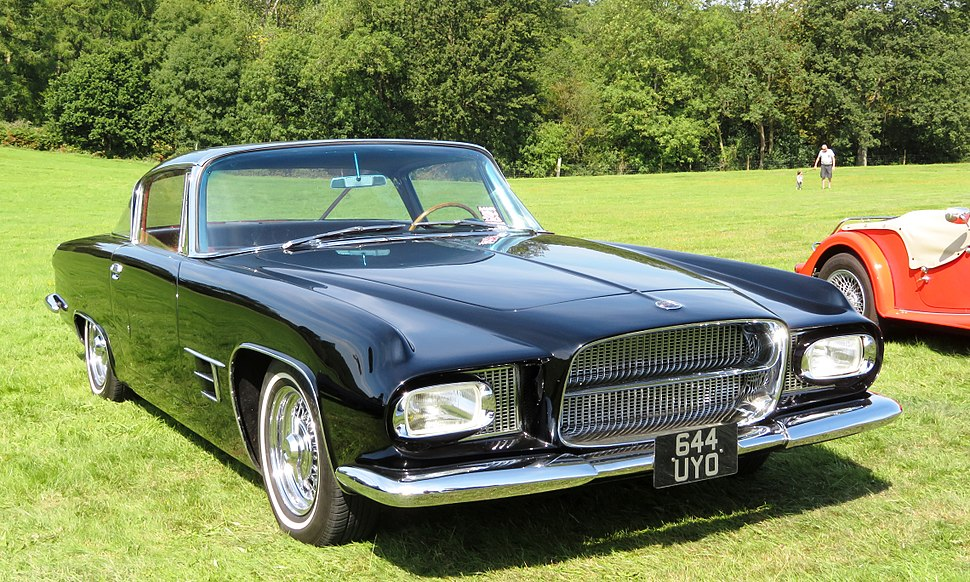 Ghia L6.4 (Chrysler base) mfd 1962