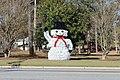 Giant snowman, T.C. Jeffords Park, Sylvester.jpg