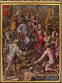 Giorgio Vasari - Lorenzo the Magnificent receives the tribute of the ambassadors - Google Art Project.jpg