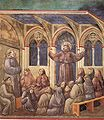 Giotto - Legend of St Francis - -18- - Apparition at Arles.jpg