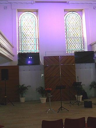 St George's Tron Church - New interior design