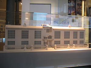 Glasgow School of Art - Architectural model of the Glasgow School of Art.