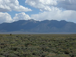 Glass Mountain (California) - Image: Glass mountains
