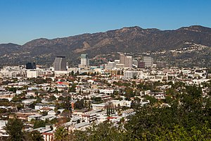 Glendale, California - View of Glendale from Forest Lawn Memorial Park
