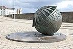 Globe Sundial, Marine Walk, Swansea, Wales.JPG