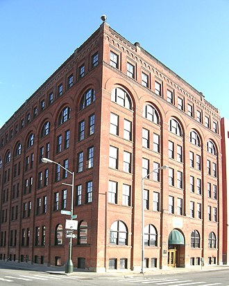 Real Times - The Globe Tobacco Building at one time housed the company headquarters