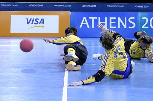 Goalball vid Paralympics i Aten