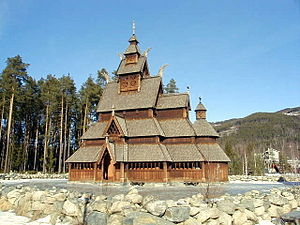 Gol, Norway - Gol Stave Church replica
