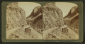Golden Gate, entrance to picturesque ravine of golden rocks - Yellowstone Park, U.S.A, by Underwood & Underwood.png
