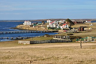 Goose Green Place in Falkland Islands, United Kingdom