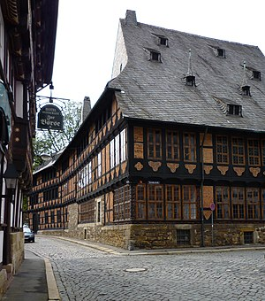 Siemens family - Siemens House at Goslar, built in 1692