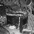 Gospodarstwo turkmeńskie - wnętrze jurty - Afganistan - 001744n.jpg