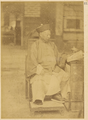Governor-General of Shan'gan, Zuo Zongtang, in Civilian Dress with a Peacock Feather in His Hat. Lanzhou, Gansu Province, China, 1875 WDL1903.png