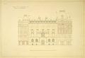 Gr. 64, ritning, fasaden Hamngatan 4 - Hallwylska museet - 47219.tif
