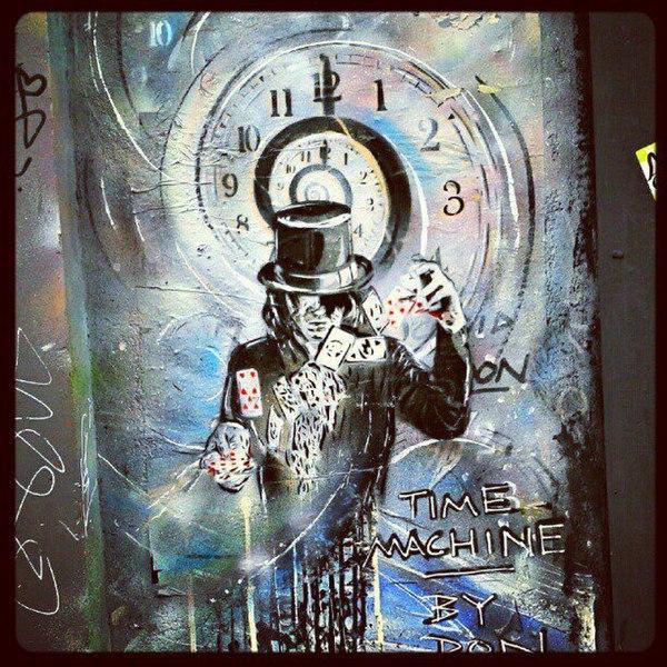 File:Graffiti in Shoreditch, London - Time Machine by Paul Don Smith (9425007440).jpg DescriptionBrick Lane Date2 August 2013, 12:07 SourceTime Machine by Paul Don Smith AuthorMsSaraKelly