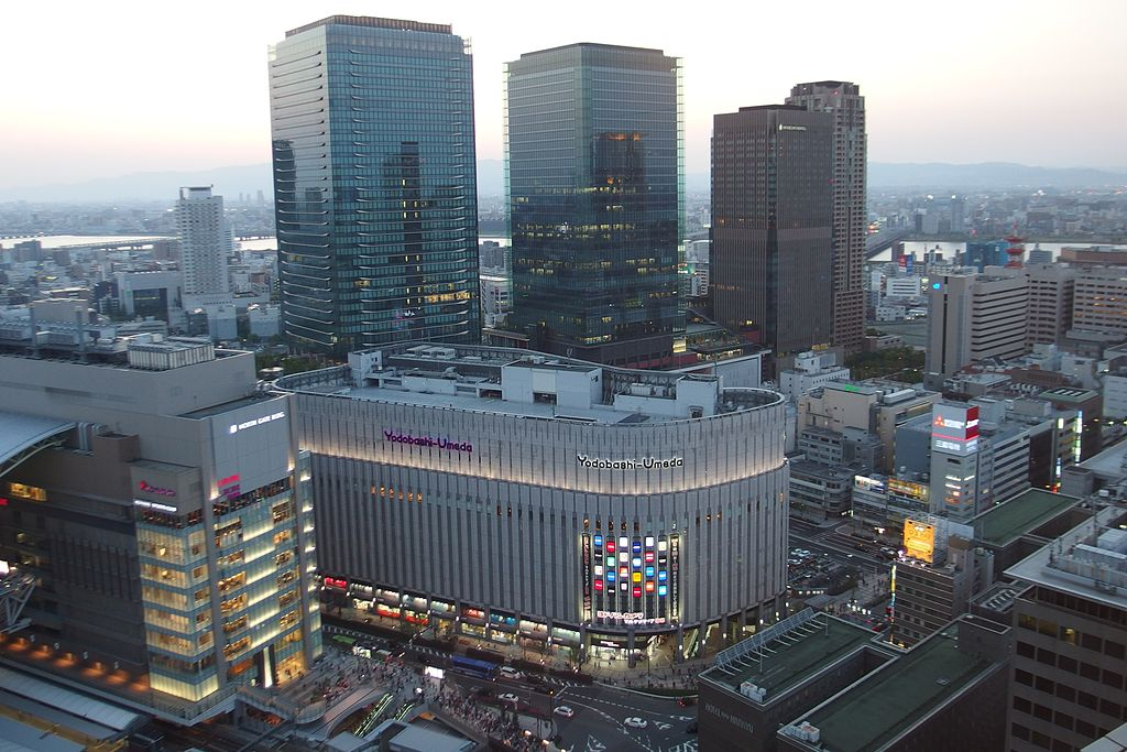 Grand Front Osaka and Yodobashi Umeda in 201504 001