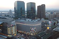 Grand Front Osaka and Yodobashi Umeda in 201504 001.JPG
