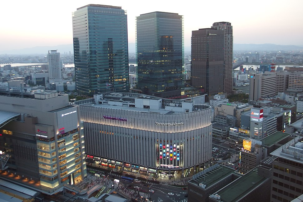 Grand Front Osaka and Yodobashi Umeda in 201504 001