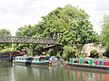 Grand Union canal - footbridge by Galba Court - geograph.org.uk - 816920.jpg
