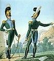 Grande Armée - 5e régiment de chevau-légers lanciers (Colonel & chef d'escadron).jpg